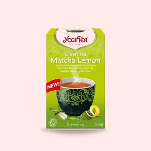 MATCHA LEMON YOGI TEA