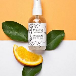 orange blosson and green tea toner
